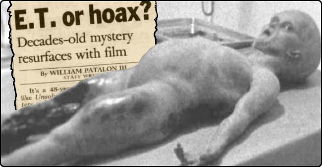 Risultati immagini per Alien Autopsy